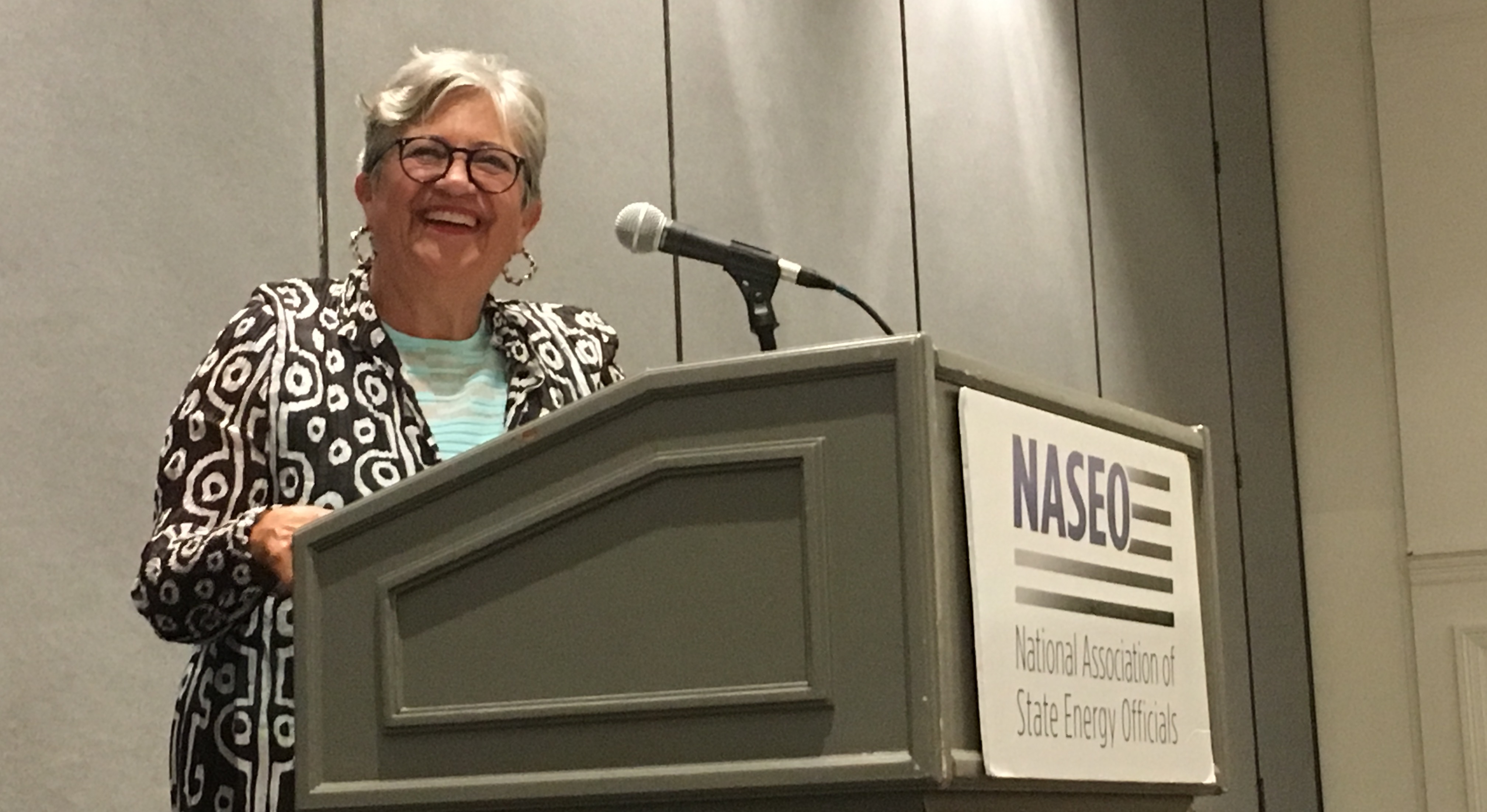 Annual Meeting Keynote Stresses State Climate Action
